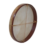 "Frame Drum, 18"", with Beater"
