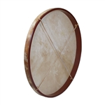 "Frame Drum, 30"", with Beater"