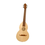 Lute-Guitar, Rosewood, Gears, Dbl, Flame