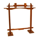 Gong Stand, Rosewood, Pedestal, 10""