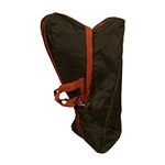 EMS Rosa Harp TM Nylon Case, Red Trim