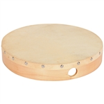10in. Wood Hand Drum W/Head