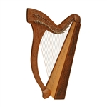 Minstrel Harp TM, 29 Strings, Knotwork