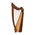 Heather Harp TM, 22 Strings, Knotwork