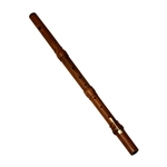 Irish Flute with Key, Rosewood