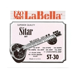 La Bella Sitar String Set