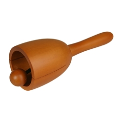 Monk Bell, Wooden, Large