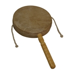 Monkey Drum with Handle, 8""