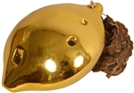 Ocarina, Necklace, Tenor, D4, Gold