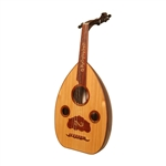 Oud, Egyptian, Walnut & Beech, Gig Bag