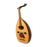Oud, Rosewood, Oval MOP Inlay, Gig Bag