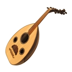 Oud, Rosewood, MOP & Wood Inlay, Gig Bag