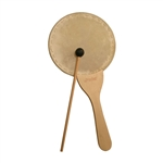 "Paddle Drum, 8"", Natural, w/ Mallet"