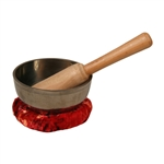 Singing Bowl, Black, 4 1/2""
