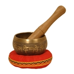 Singing Bowl, Decorated, 3 1/2""