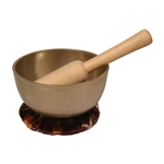 Singing Bowl, Bronze, 5 1/4""