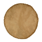 Goatskin,with finished Laced Edge, 10""
