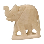 Elephant, Bone, 2 Pack