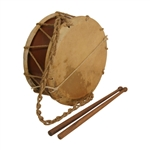 "EMS Tabor Drum, 9"", with Sticks"