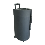 Tabla Case, Wheeled, 2+1