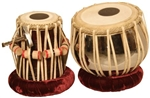 Tabla Set, Copper, Nickel Plated, Heavy