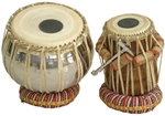 Tabla Set, Stainless Steel Bayan, Bag