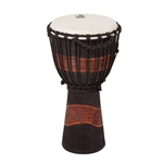 "TOCA 8"" Street Djembe, Brown/Black"