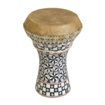 Mosaic Wooden Doumbek, Small