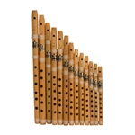Bamboo Whistle Set
