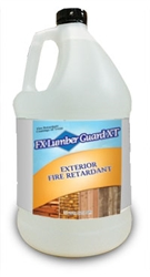Lumber Guard XT fire retardant for Exterior Wood