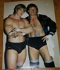 TERRY FUNK & KEVIN VON ERICH signed poster!!