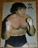 TERRY FUNK signed poster
