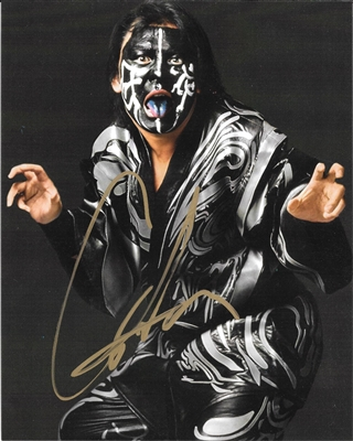 THE GREAT MUTA signed photo