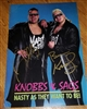 THE NASTY BOYS signed poster