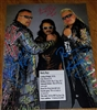 THE NASTY BOYS & JIMMY HART signed poster!!
