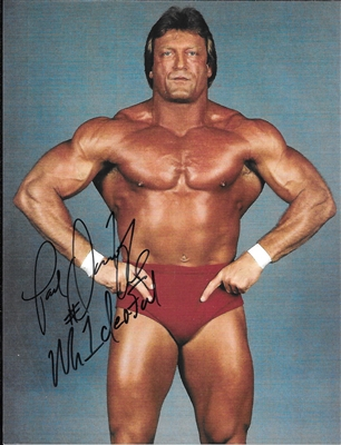 PAUL ORNDORFF signed photo