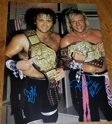 ROCK N ROLL EXPRESS signed poster!!