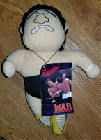 TENRYU WAR vintage Plush Doll w/ Tags