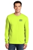 Hi-Vis Long-Sleeve Tee - Safety Green