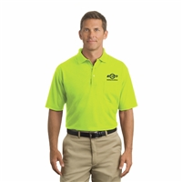 Hi-Vis Short-Sleeve Polo - Safety Green