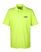 Mens Performance Hi-Vis Polo - Safety Green