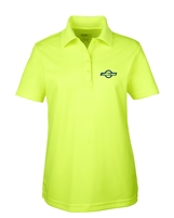 Ladies Performance Hi-Vis Polo - Safety Green