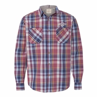 Weatherproof - Vintage Plaid Long-Sleeve Shirt