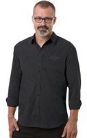 Untucked - Mens  Crossweave Shirt