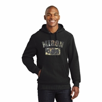 Super Heavyweight Hooded Sweatshirt - Camo Applique