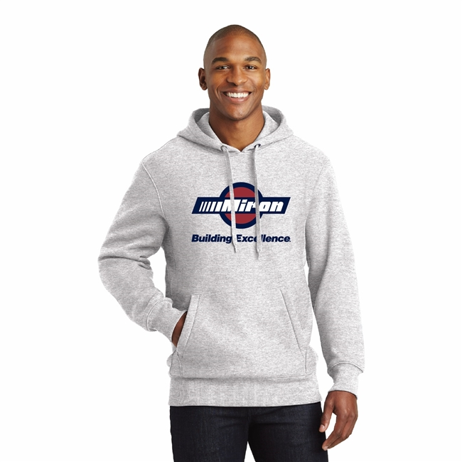 Super Heavyweight Hooded Sweatshirt - Ash