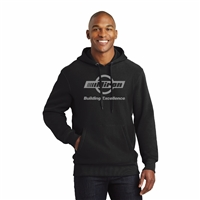 Super Heavyweight Hooded Sweatshirt - Black