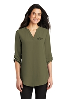 Port Authority - Ladies 3/4-Sleeve Tunic Blouse