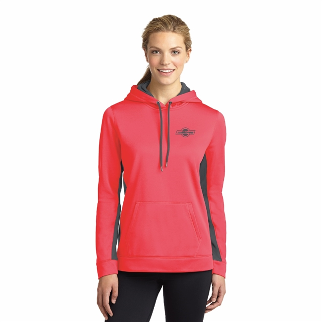 Sport Tek - Ladies Hooded Pullover