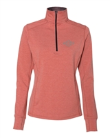 J. America - Ladies Stretch Quarter-Zip Pullover